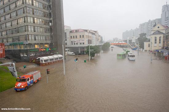 Затопленный Минск