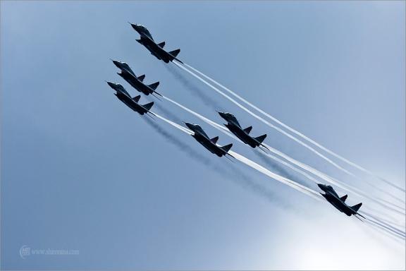 20 лет авиационной группе высшего пилотажа «Стрижи»